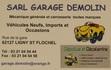 Carte SARL Garage Demolin