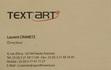 Carte Text'Art